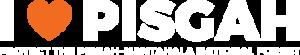 i heart pisgah logo white